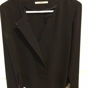 J Brand black blouse